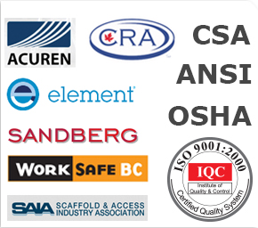Certification and engineering logos